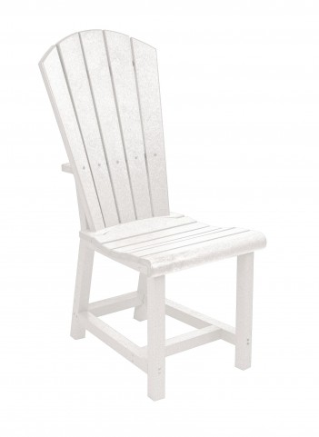 Generations White Adirondack Dining Side Chair