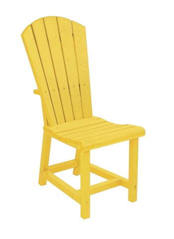 Generations Yellow Adirondack Dining Side Chair