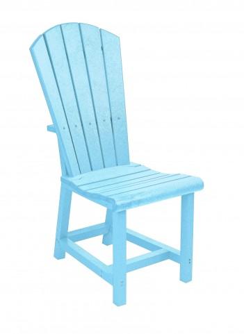 Generations Aqua Adirondack Dining Side Chair
