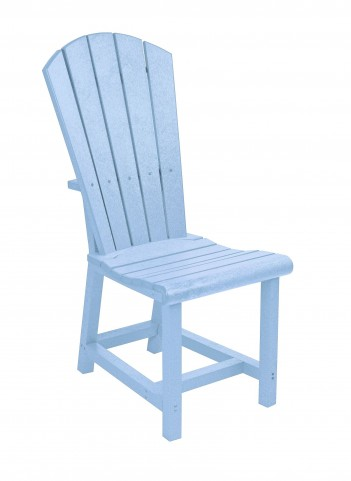 Generations Sky Blue Adirondack Dining Side Chair