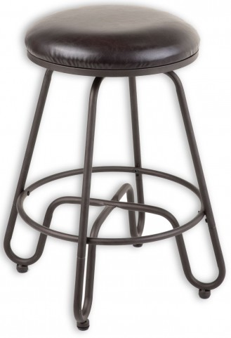 "Denver Umber and Brown 30"" Barstool"