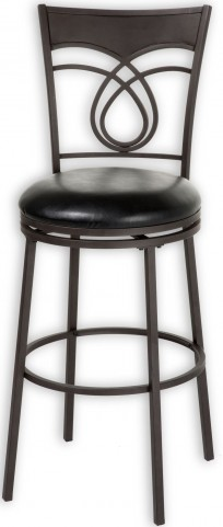 "Madison Umber and Black 30"" Barstool"