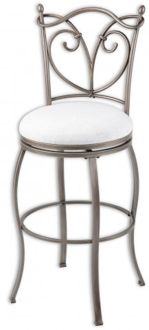 "Raleigh Brushed Bronze and Wheat 30"" Barstool"