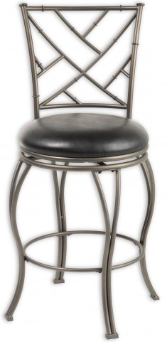 "Honolulu Coffee and Black 26"" Barstool"
