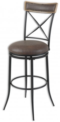 "Boise Fruitwood and Charcoal 30"" Barstool"