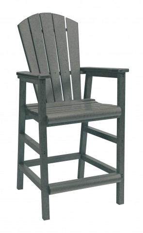 Generations Slate Adirondack Dining Pub Arm Chair