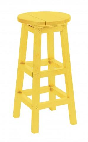 Generation Yellow Swivel Bar Stool