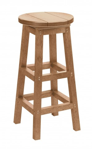 Generation Cedar Swivel Bar Stool