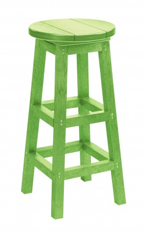 Generation Kiwi Lime Swivel Bar Stool