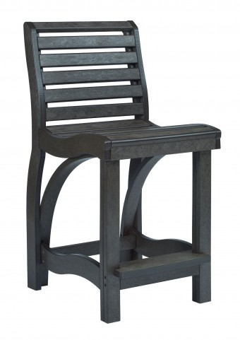 St Tropez Black Counter Chair