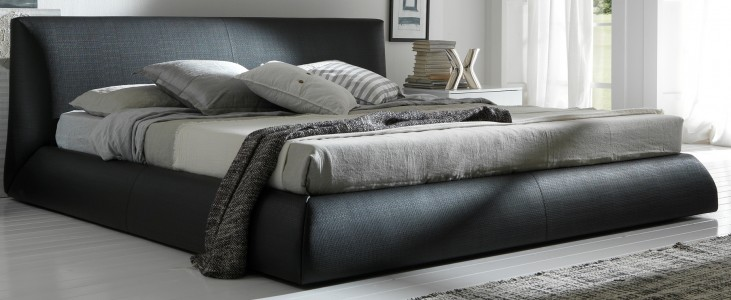 Coco Brown Queen Platform Bed
