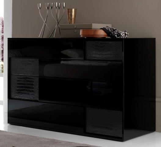 Nightfly Black Dresser