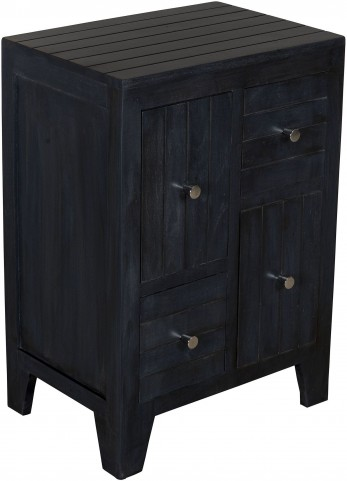 Mango Black Drawer Chest