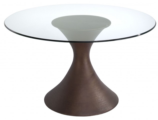 Casablanca Glass Top Dining Table