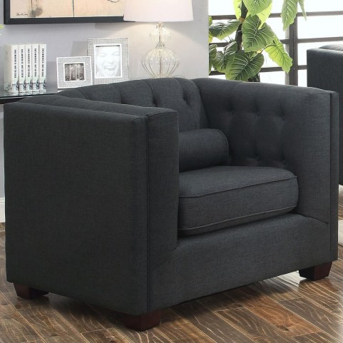 Cairns Charcoal Chair