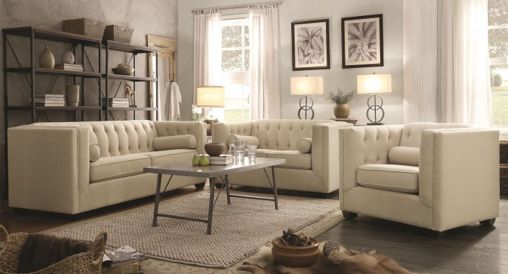 Cairns Oatmeal Living Room Set