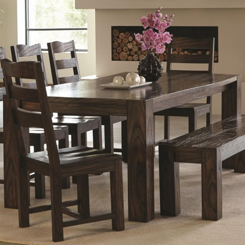 Calabasas Dark Brown Dining Table