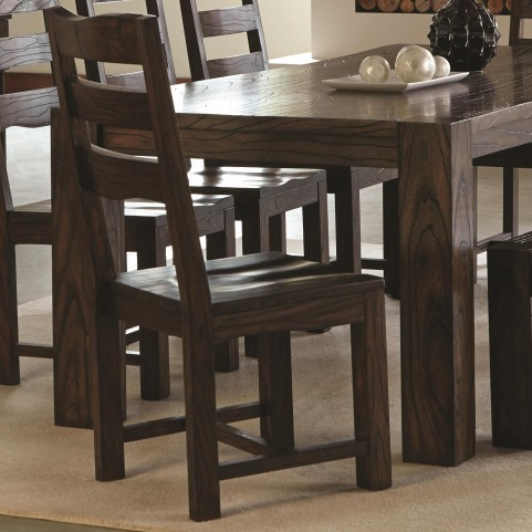 Calabasas Dark Brown Dining Side Chair Set of 2