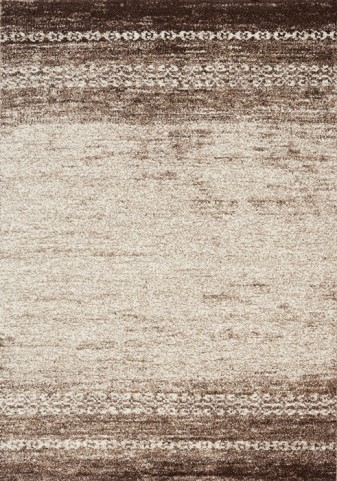 Camino Cream/Brown Distressed Small Rug