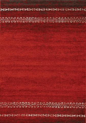 Camino Red/Brown Distressed Medium Rug