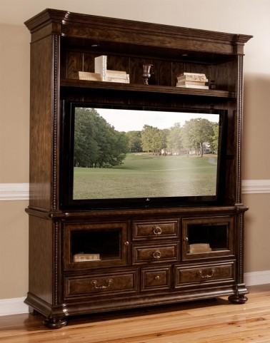 Canyon Creek Vintage Oak Entertainment Center