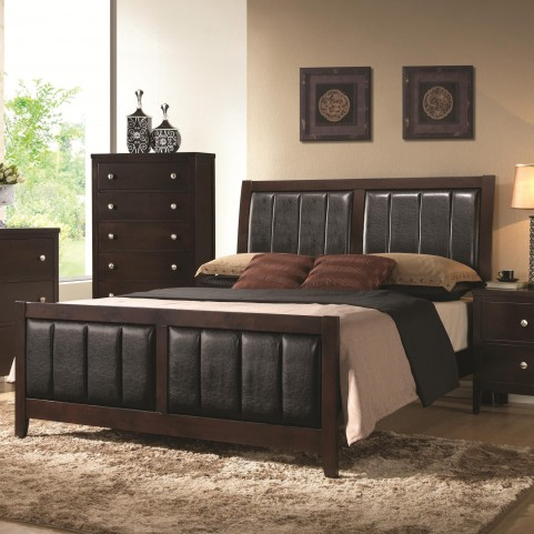 Carlton King Panel Bed