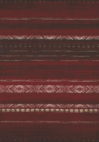Casa Red/Brown/White Sweater Medium Rug