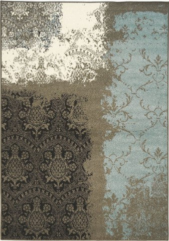 Casa Transitional Vintage Lace Small Rug