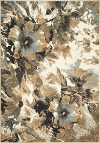"Casa Watercolor Flowers 94"" Rug"