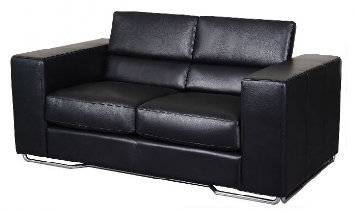 Caslon Black Loveseat