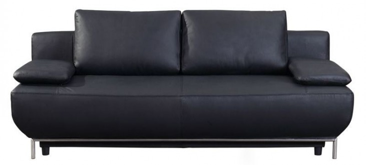 Cassino Black Sofa Bed