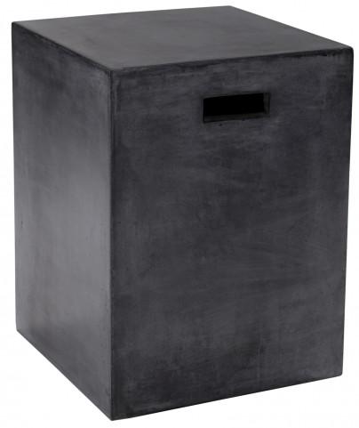 Castor End Table In Black