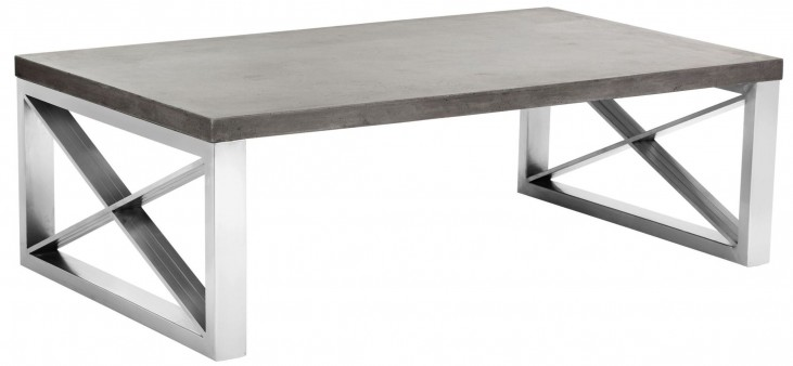Catalan Concrete Top Coffee Table