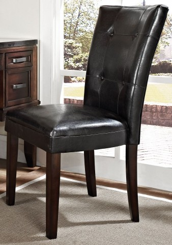 Chamberlain Dark Cherry Parsons Chair