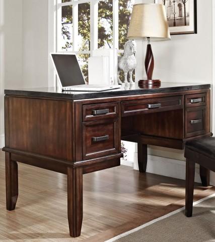 Chamberlain Dark Cherry Desk