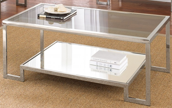 Churchill Glass Top Cocktail Table