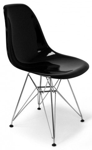 Modern Classics Chantal Black Gloss Chair
