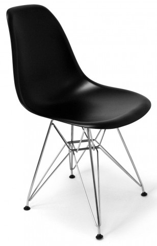 Modern Classics Chantal Black Matte Chair