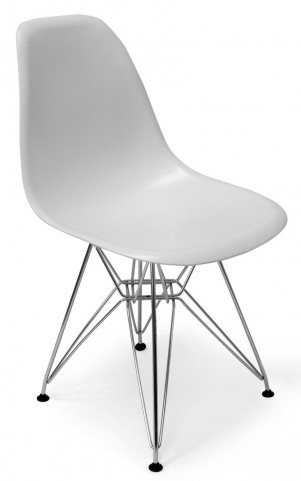 Modern Classics Chantal White Matte Chair