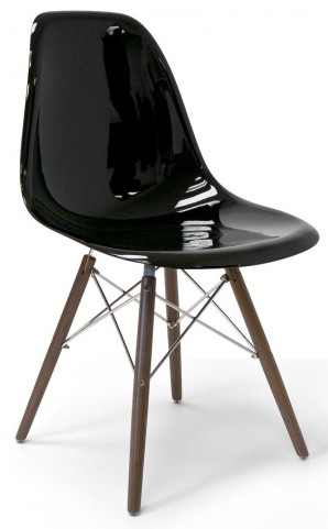 Modern Classics Isabelle Black Gloss Chair