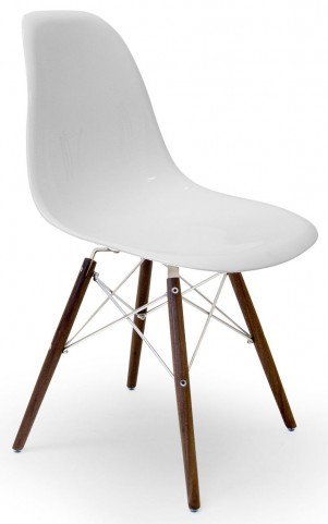 Modern Classics Isabelle White Gloss Chair