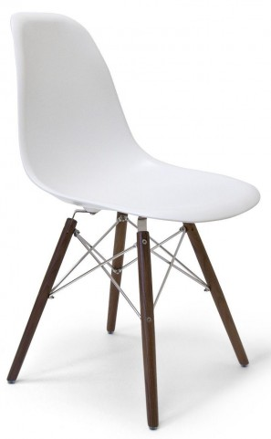 Modern Classics Isabelle White Matte Chair