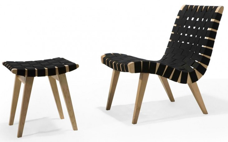 Modern Classics Weave Chair With Ottoman