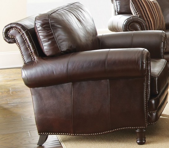 Chateau Top Grain Leather Chair