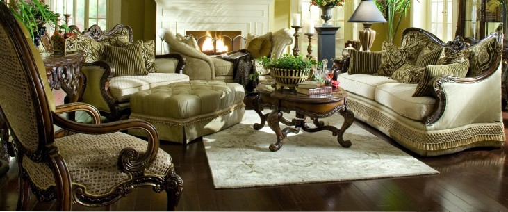 Chateau Beauvais Living Room Set