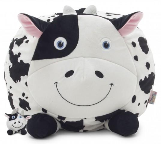Big Joe Chloe the Cow with Lil Buddy Short Fur Bagimal