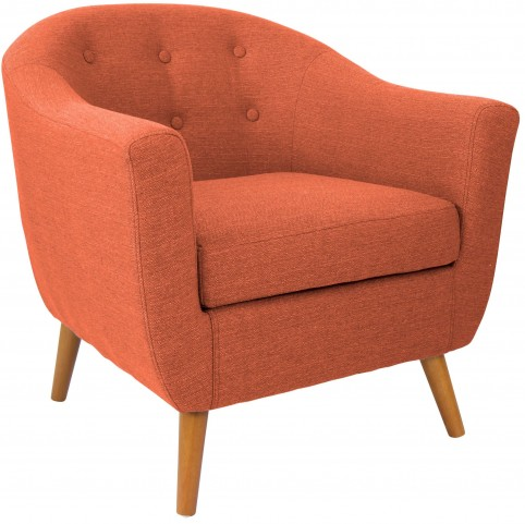 Rockwell Orange Chair