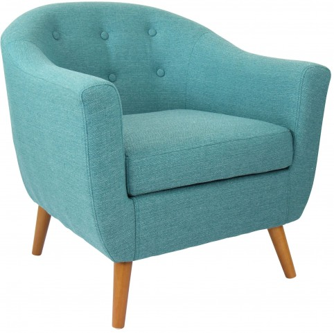 Rockwell Teal Chair