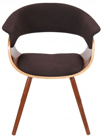 Vintage Mod Espresso Chair