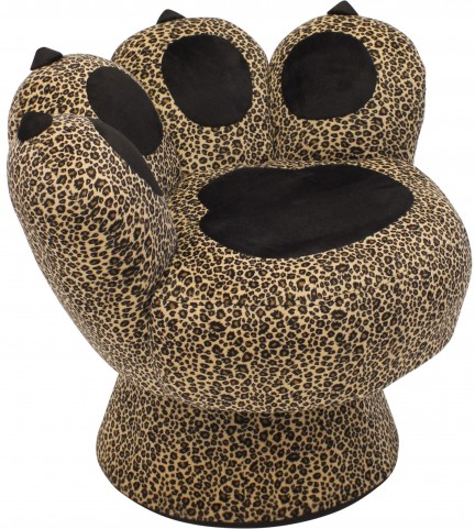 Paw Leopard Chair